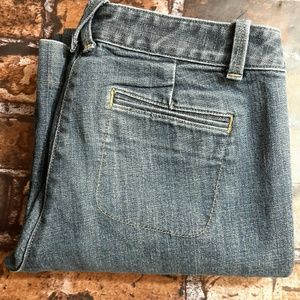J. Crew city fit, flare jeans